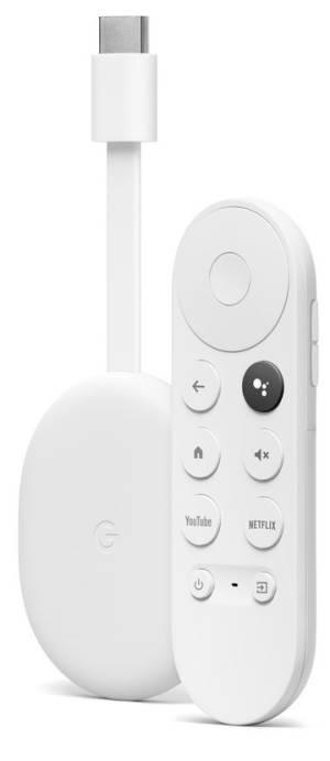 Google chromecast con google tv 4k hdr bianco ghiaccio