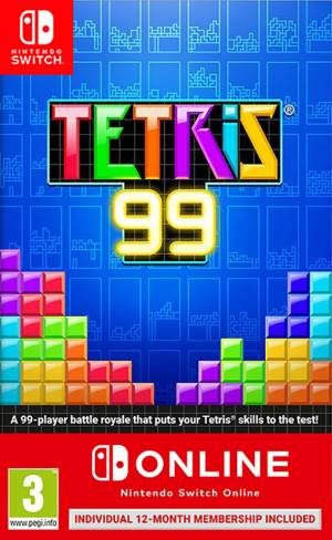 Switch tetris 99 + nintendo switch online 12 mesi