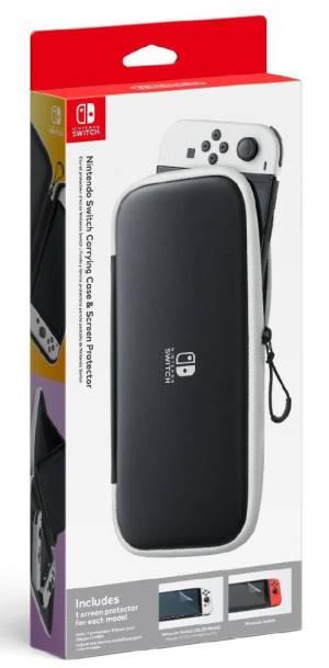 Switch oled kit custodia + pellicola