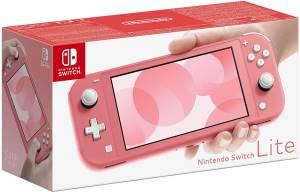 Switch lite console corallo