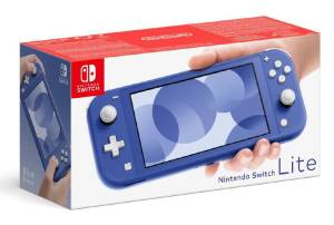 Switch lite console blu