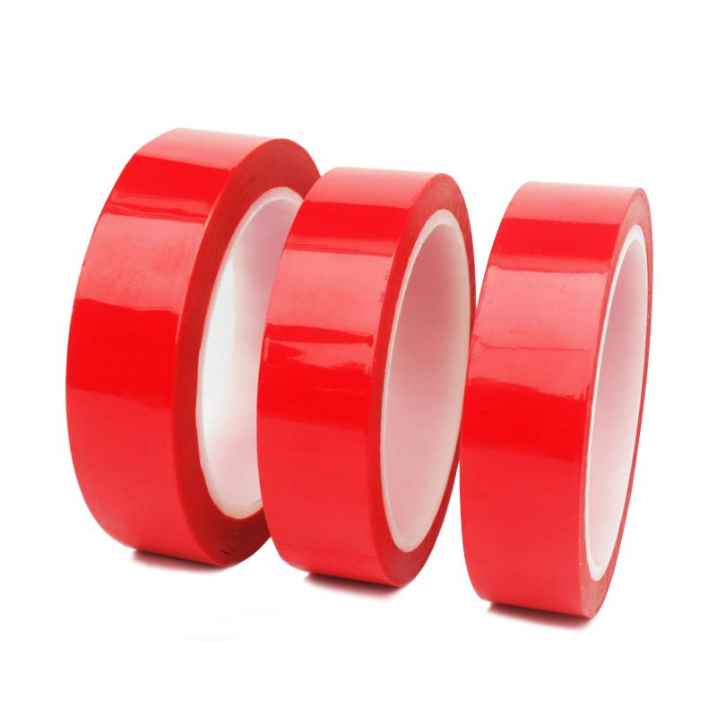10 PZ - NASTRO BIADESIVO SPUGNA BIANCO PELLICOLA RED 25MM x 2MT