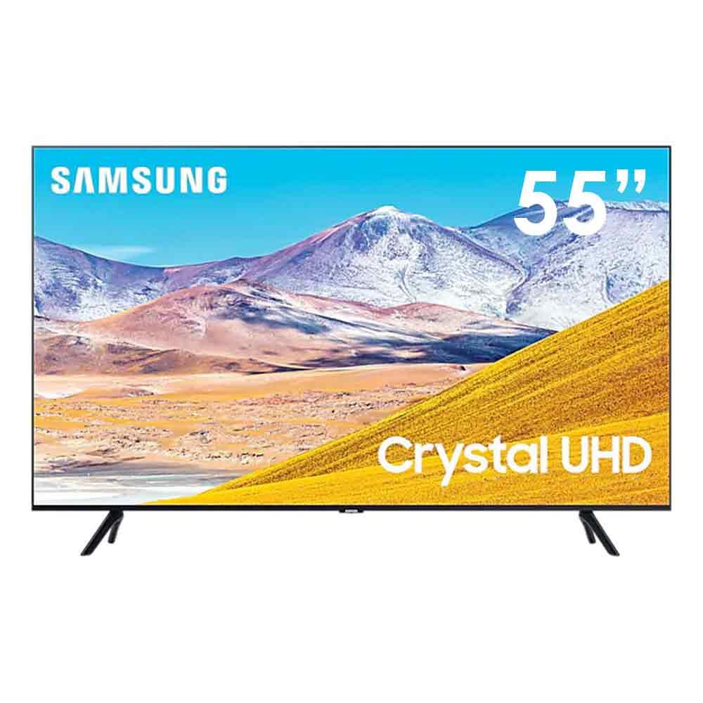 Smart tv samsung series 8 crystal uhd 4k 55 pollici dvb-t2 wi-fi lan ue55tu8070u