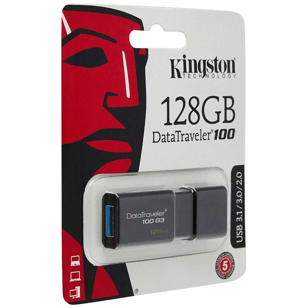 Kingston 128 gb datatraveler 100 g3 usb 3.0 dt100g3-gb