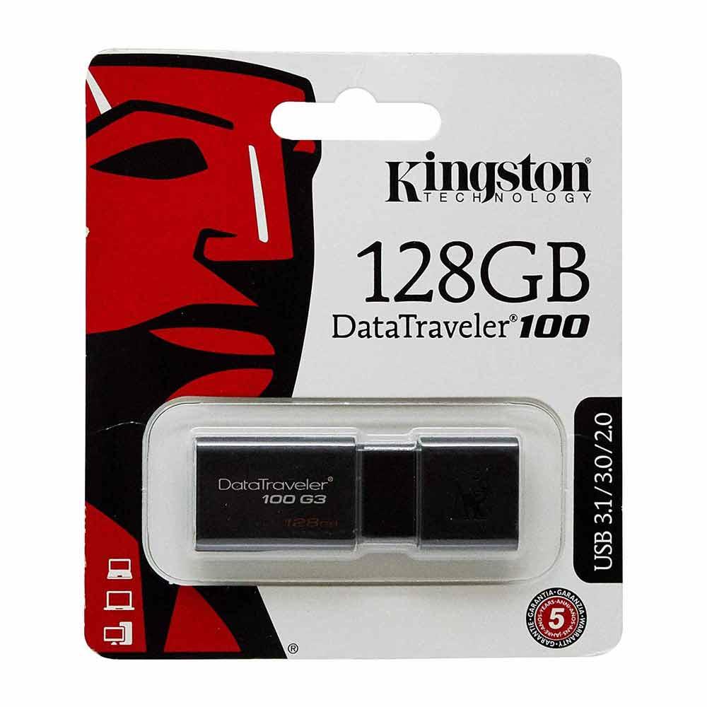 Kingston Pendrive USB-A 3.0 128GB DT100G3/128GB foto 3