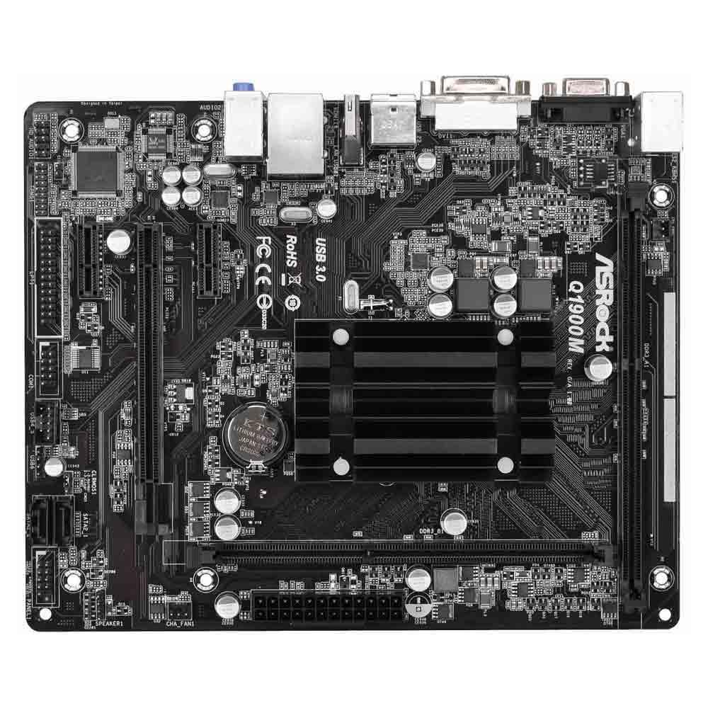 ASRock Q1900M J1900 DualDDR3L 1333mhz 2xSATA2 HDMI DVI D-Sub mATX foto 3