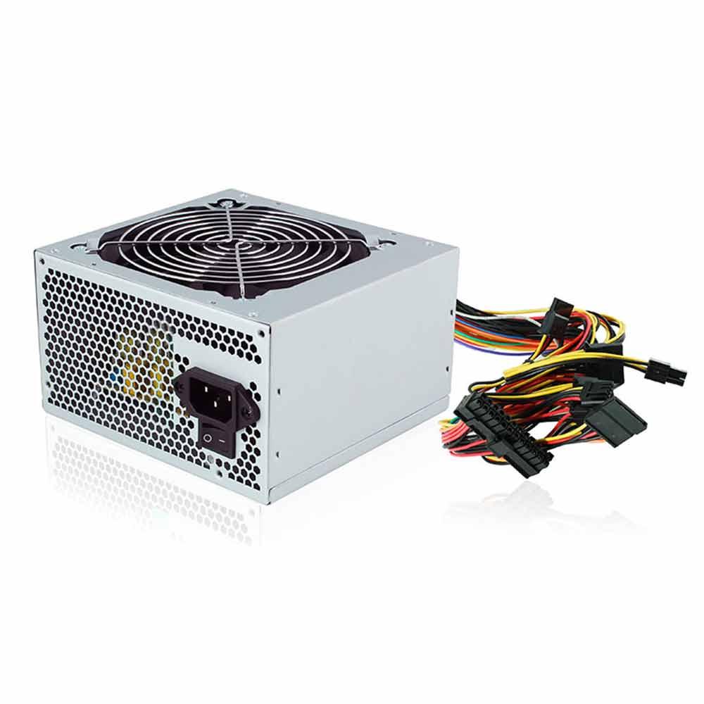 Alimentatore pc desktop 500 watt atx btx super silent ventola 12cm