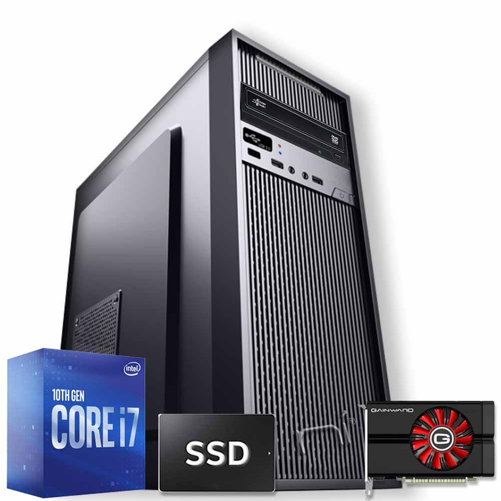 Pc Lighting bolt intel i7-10700 16gb ram hdd 1tb ssd 240gb nvidia gtx 1050 4gb foto 2