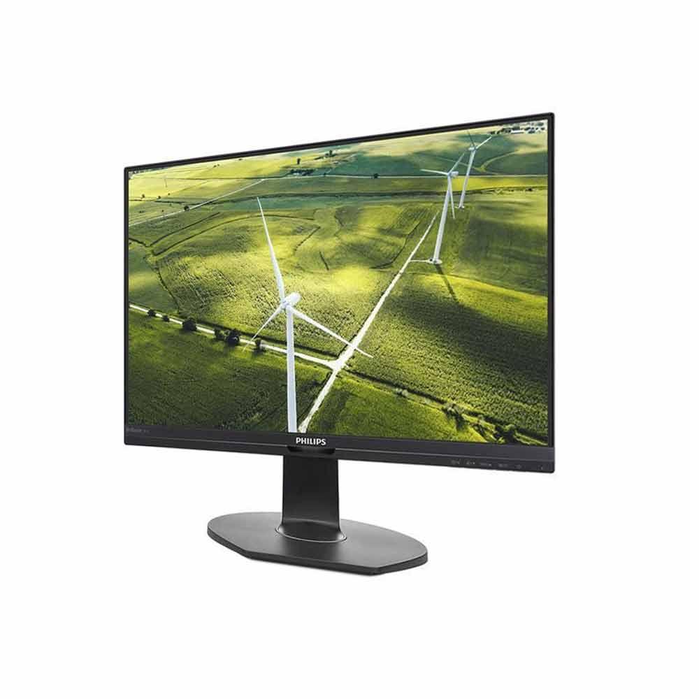 Monitor Philips Pivot 24 pollici FullHD VGA HDMI DisplayPort 5ms con speaker foto 3