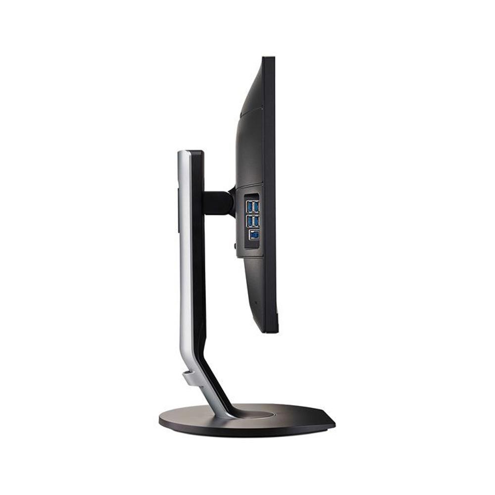 Monitor Philips Pivot 24 pollici FullHD VGA HDMI DisplayPort 5ms con speaker foto 5