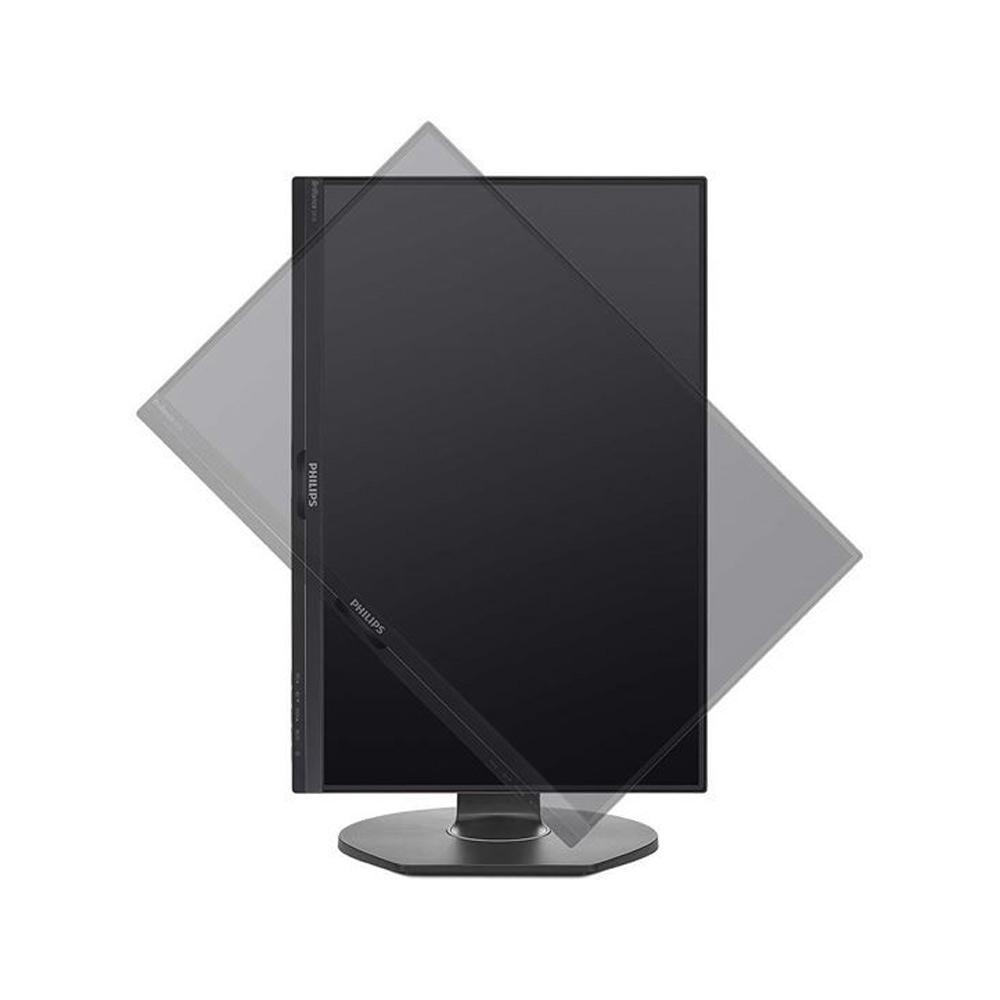 Monitor Philips Pivot 24 pollici FullHD VGA HDMI DisplayPort 5ms con speaker foto 6