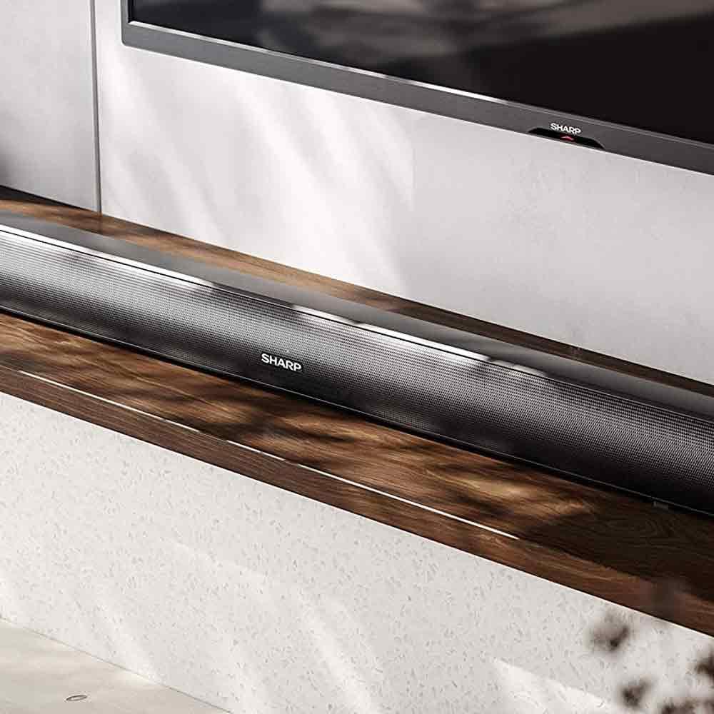 Soundbar Sharp HT-SB147 Home Theatre 2.0 120W HDMI Bluetooth 92cm  foto 6