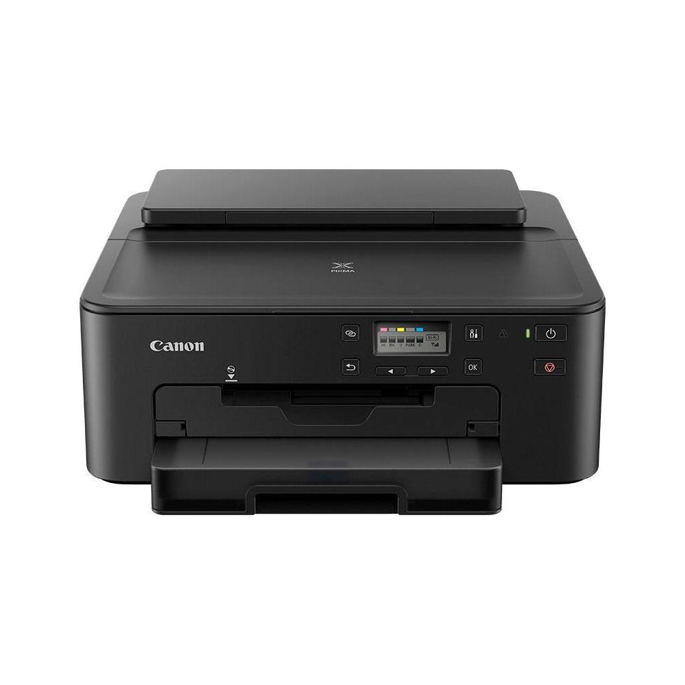 Stampante multifunzione canon ts705 inkjet lan, wi-fi fronte retro stampa su cd