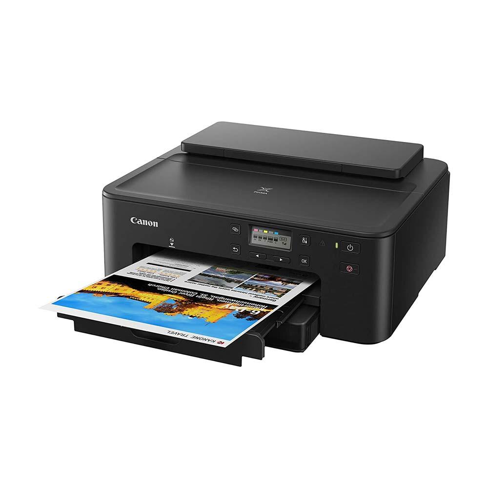 Stampante multifunzione Canon TS705 inkjet LAN, Wi-Fi fronte retro stampa su CD foto 4