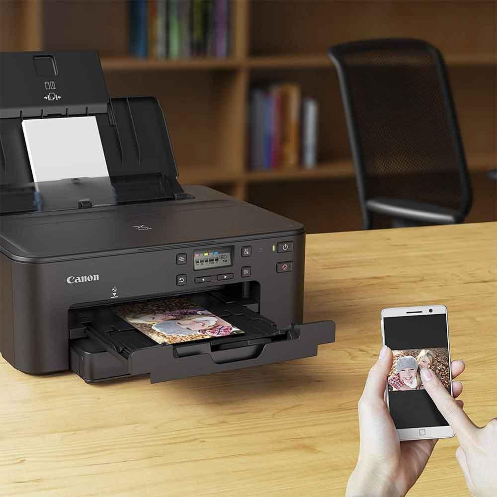 Stampante multifunzione Canon TS705 inkjet LAN, Wi-Fi fronte retro stampa su CD foto 5