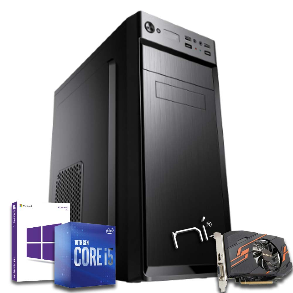 Pc fisso i5-10400 video dedicata nvidia gt 1030 8gb ram hdd 1tb ssd 240gb win 10