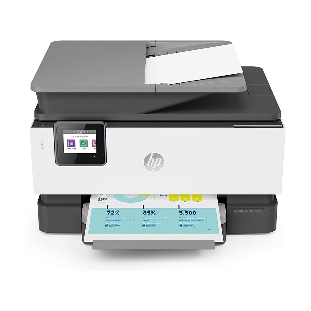 Stampante HP OfficeJet PRO 9013 multifunzione inkjet a colori fronte-retro Wi-Fi foto 3
