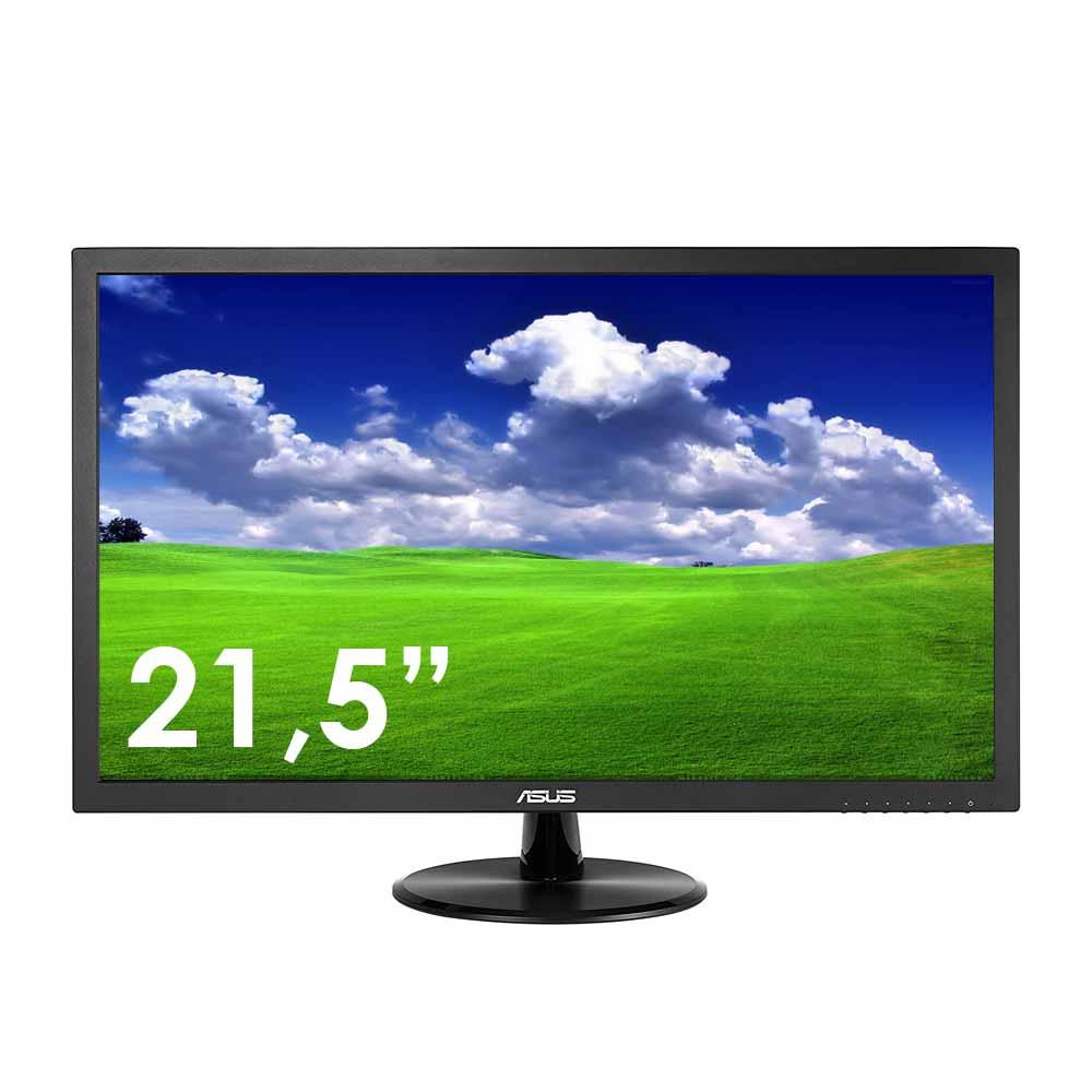 Monitor asus 21,5 pollici fullhd con pannello lcd connettore vga 5ms vp228de