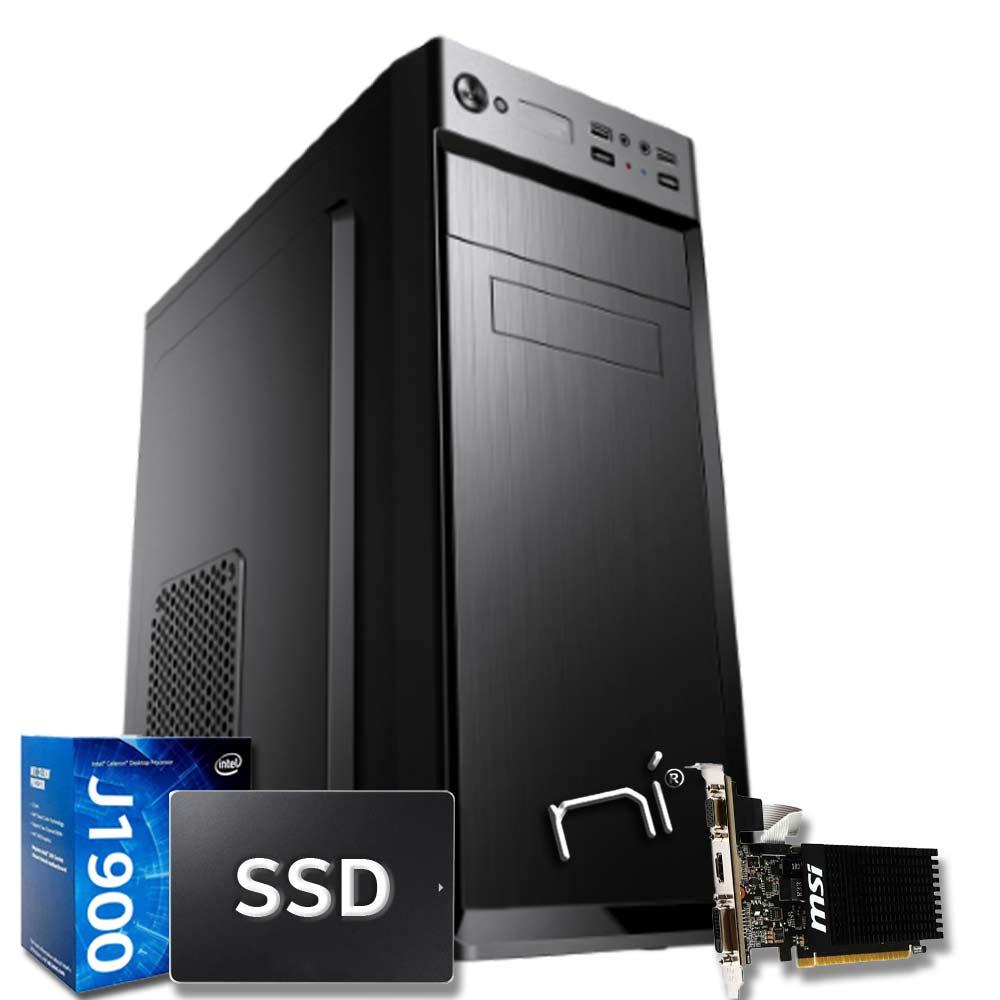Pc fisso pulsar intel quad core 16gb ram ssd 240gb nvidia gt 710 wifi hdmi