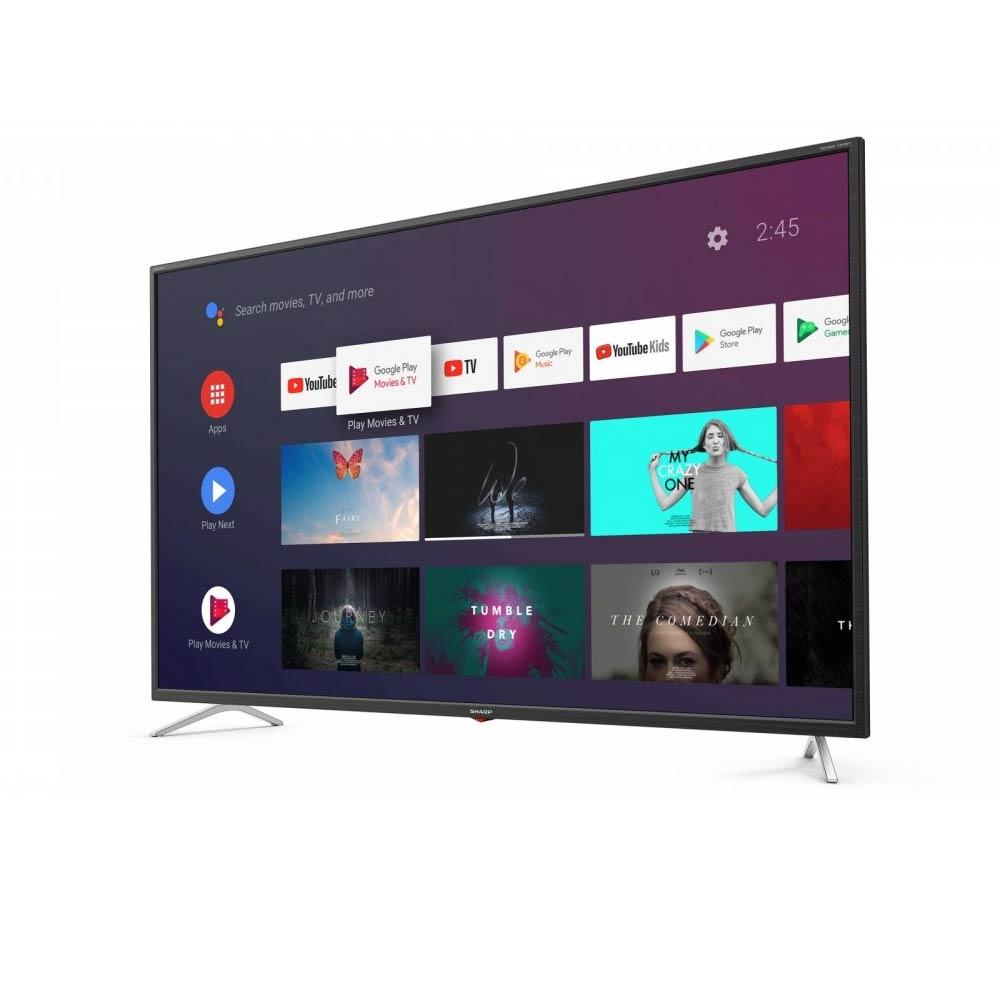 Televisore Smart Sharp Aquos 4K 50 pollici AndroidTV 9 Google Assistant 50BL3EA  foto 3