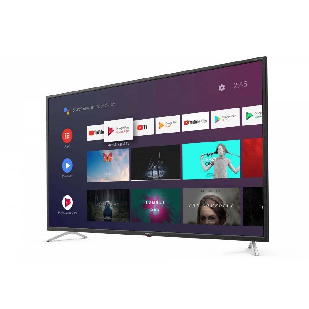 Televisore Smart Sharp Aquos 4K 65 pollici AndroidTV 9 Google Assistant 65BL3EA foto 3