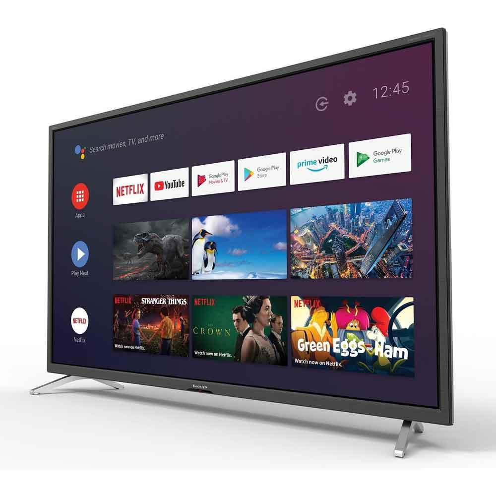 TV Smart Sharp Aquos HD 32 pollici AndroidTV 9.0 chromecast integrato 32BI4E foto 3