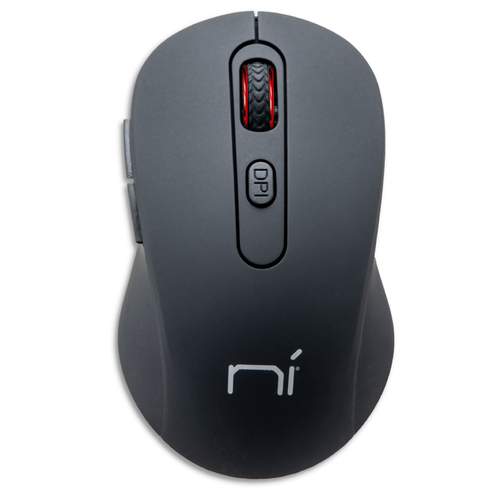 Mouse wireless senza fili ergonomico per computer notebook pc soft touch