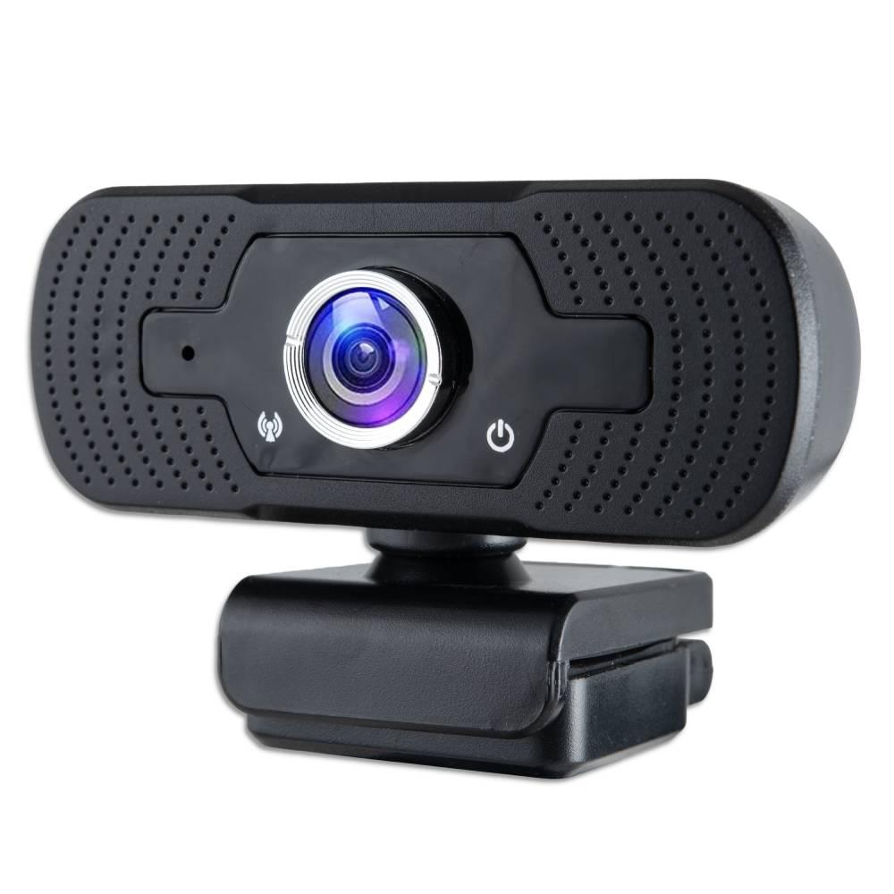 Webcam pc con microfono full hd smart working skype video camera per pc.