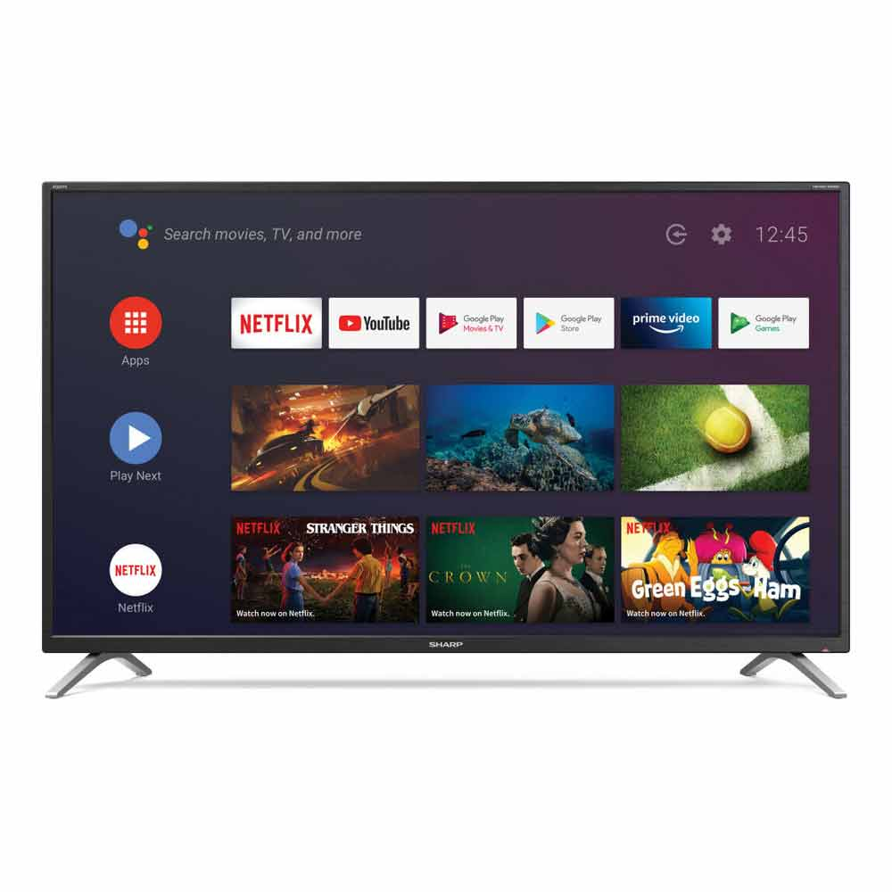 Televisore Smart Sharp Aquos HD 32 pollici AndroidTV 9 Google Assistant 32BI2E foto 4