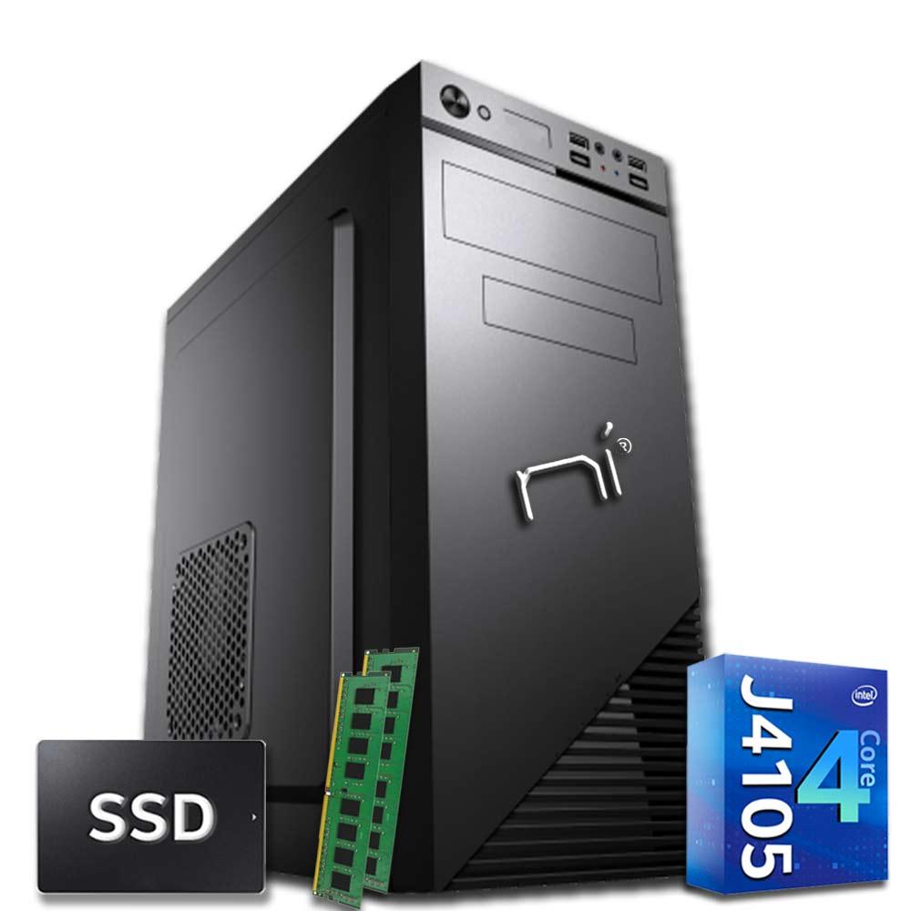 Pc desktop 3 monitor intel quad-core 16gb ram 480 gb ssd windows 10 wifi hdmi
