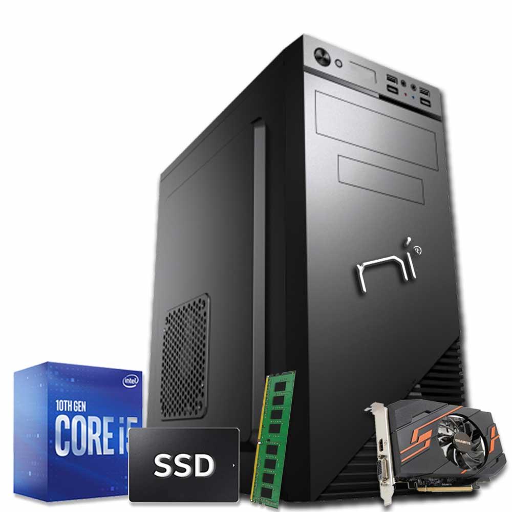 Pc desktop intel i5-10400 video dedicato nvidia gt1030 8gb ram hdd 1tb ssd 240gb