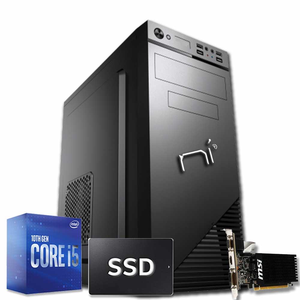 Pc Thunder Windows 10 (trial) Intel i5-10400 8gb ram ssd 240gb nvidia gt710 WiFi