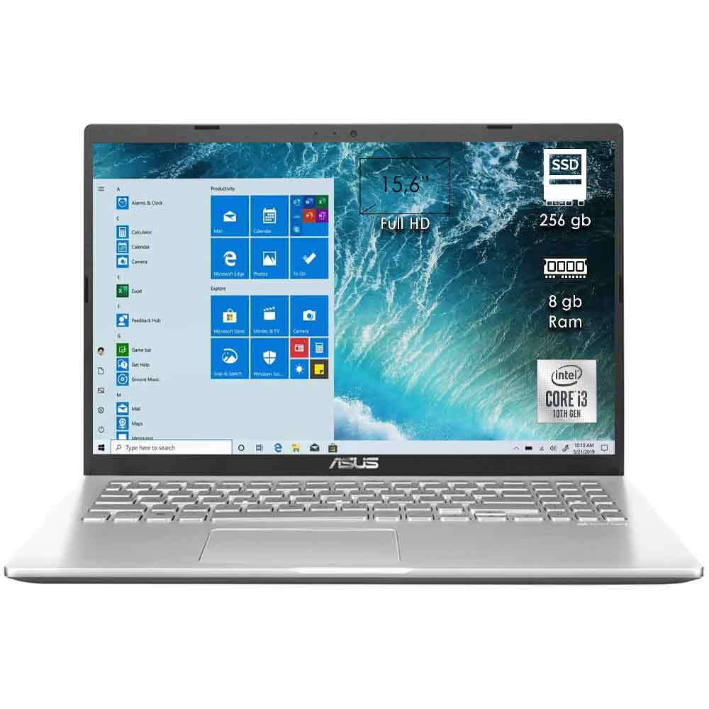 Notebook portatile asus x509j 15,6 intel i3 8gb ram ssd 256gb licenza windows 10