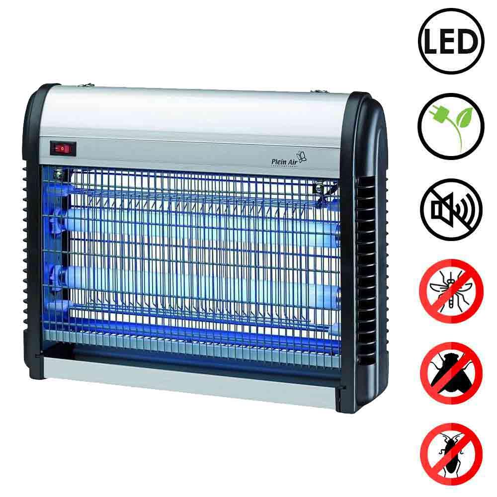 Zanzariera elettrica anti zanzare insetti giardino 16w due lampade 8w zap 16