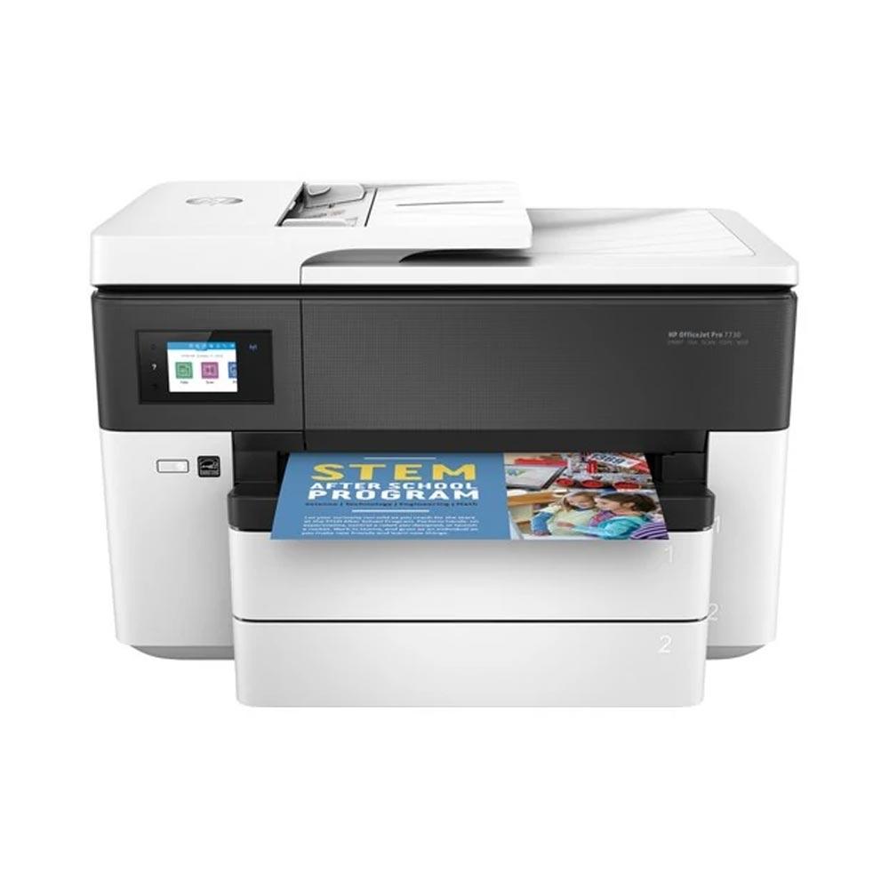 Stampante AiO HP OfficeJet PRO 7730 inkjet A3, A4, A5 doppio cassetto Wi-Fi LAN foto 3