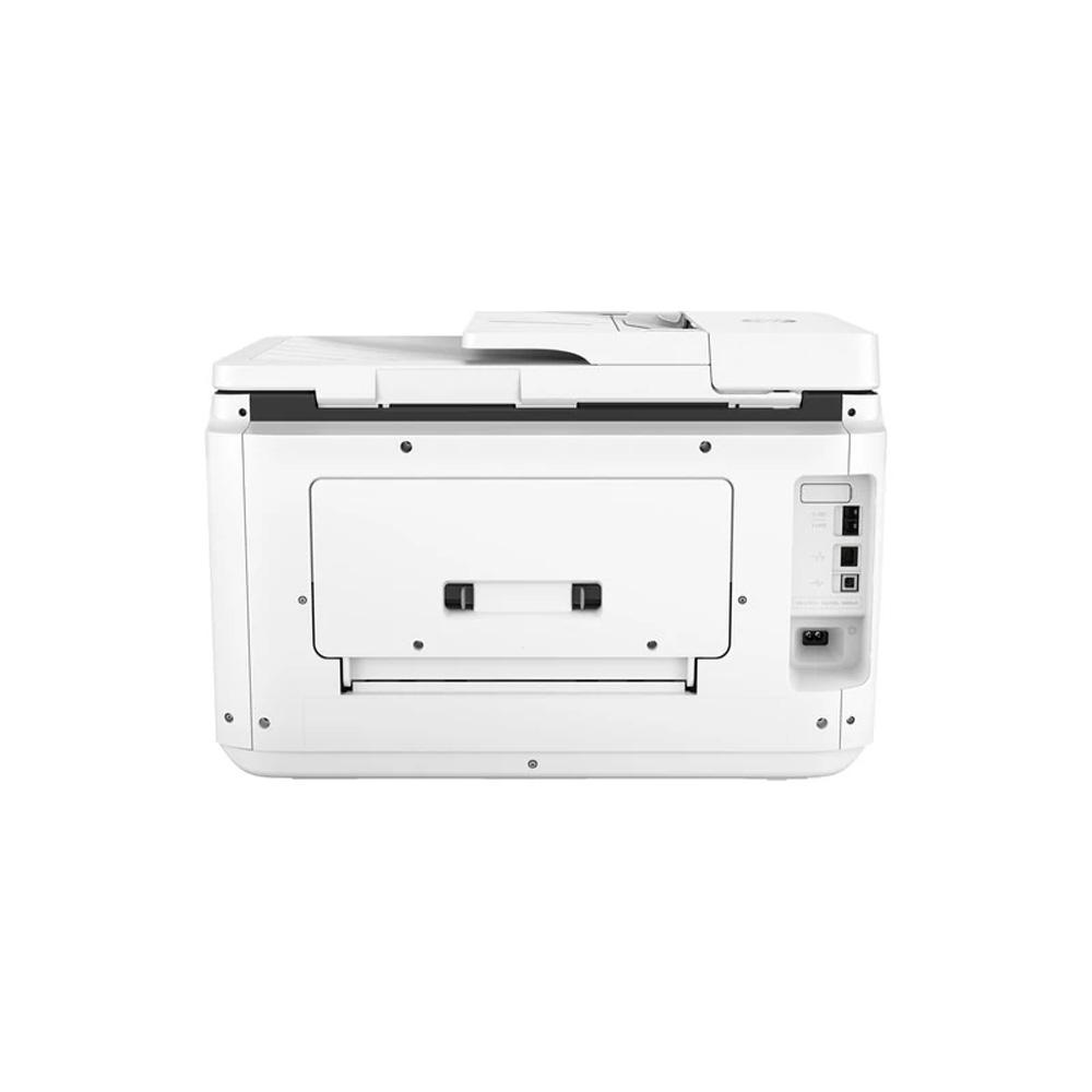 Stampante AiO HP OfficeJet PRO 7730 inkjet A3, A4, A5 doppio cassetto Wi-Fi LAN foto 5