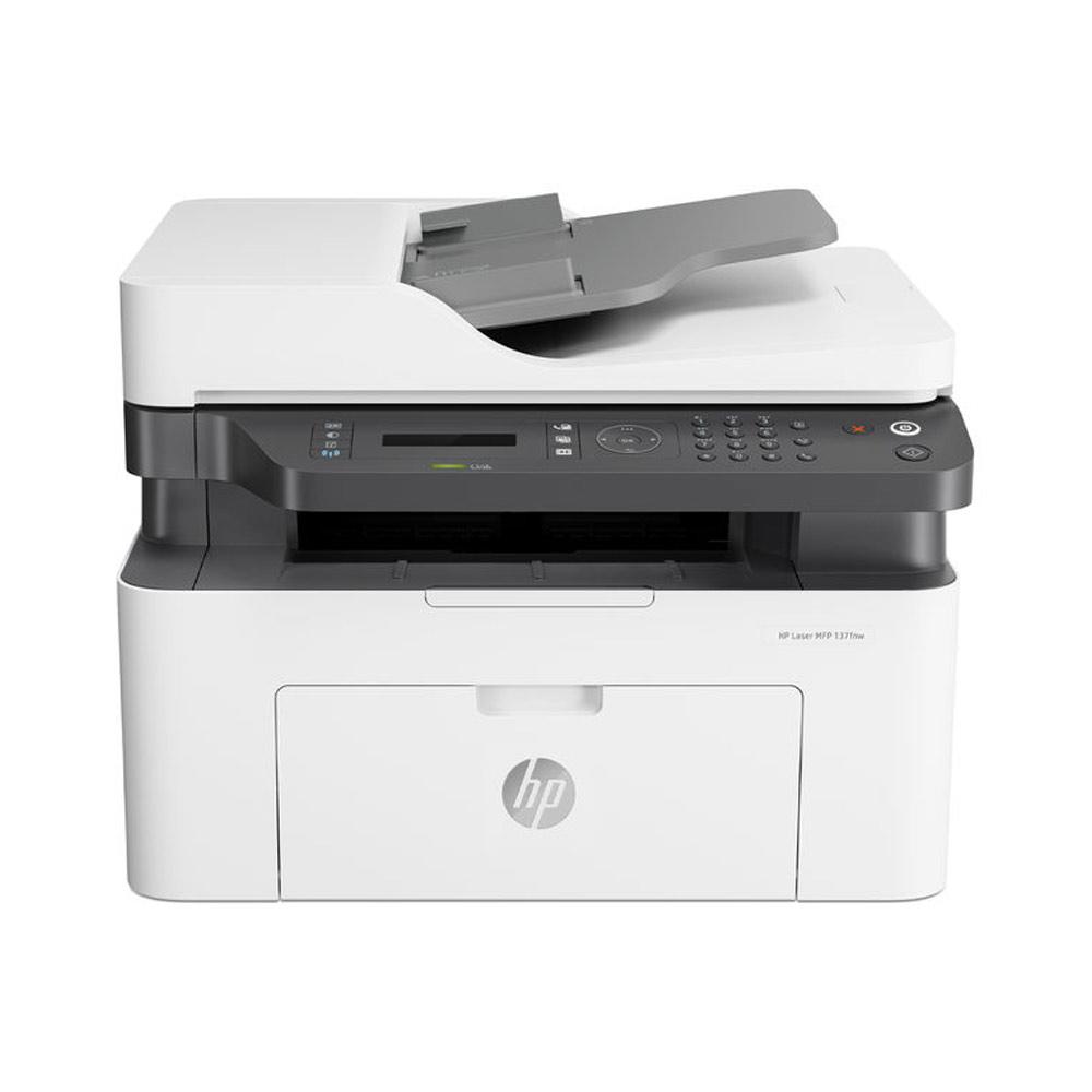Stampante hp laser mfp 137fnw fronte-retro fax scanner fotocopiatrice wifi lan