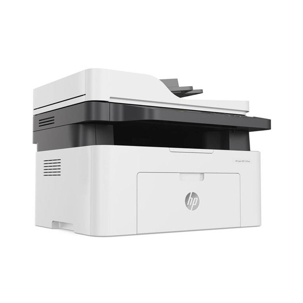 Stampante HP Laser MFP 137FNW fronte-retro Fax Scanner Fotocopiatrice WiFi LAN foto 3