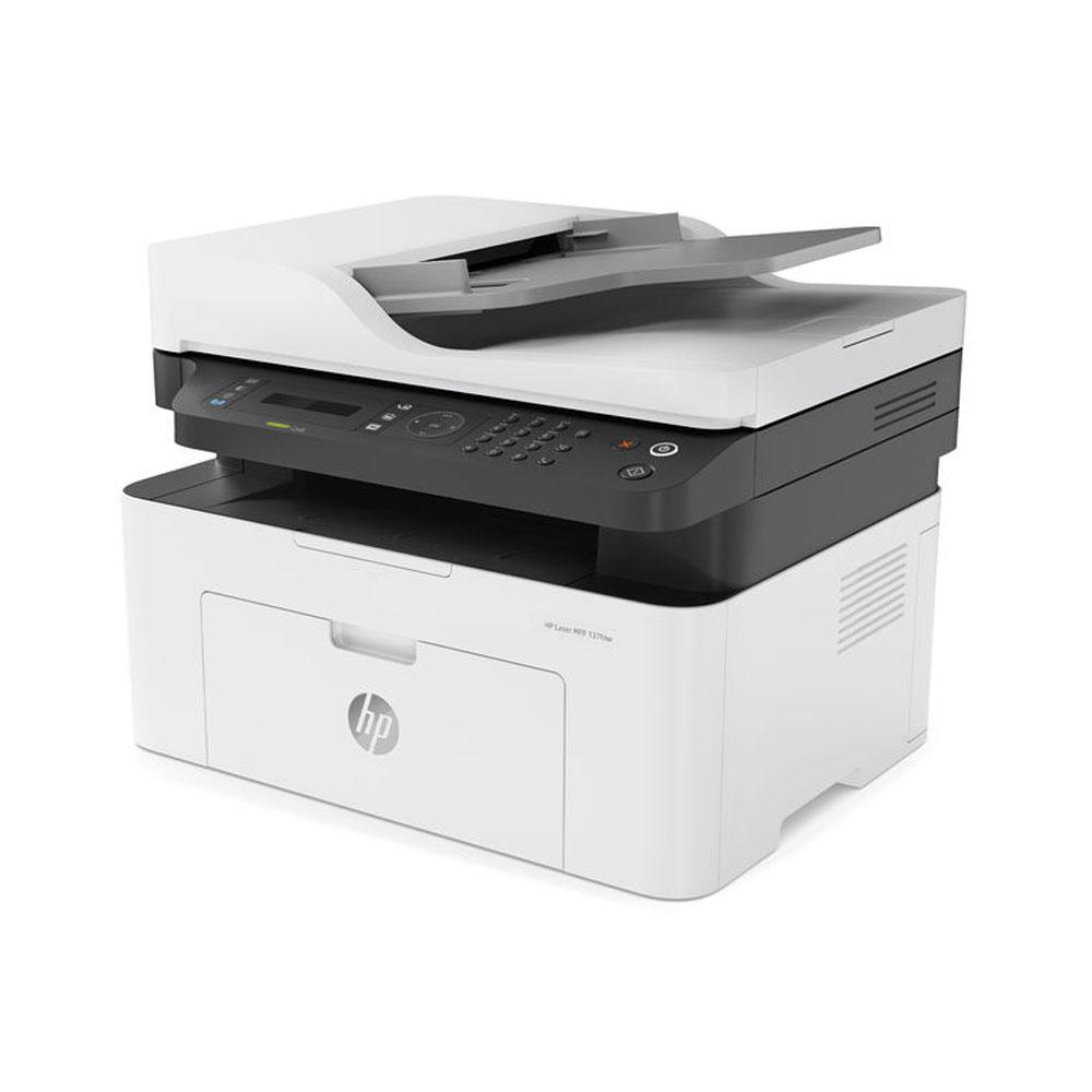 Stampante HP Laser MFP 137FNW fronte-retro Fax Scanner Fotocopiatrice WiFi LAN foto 4