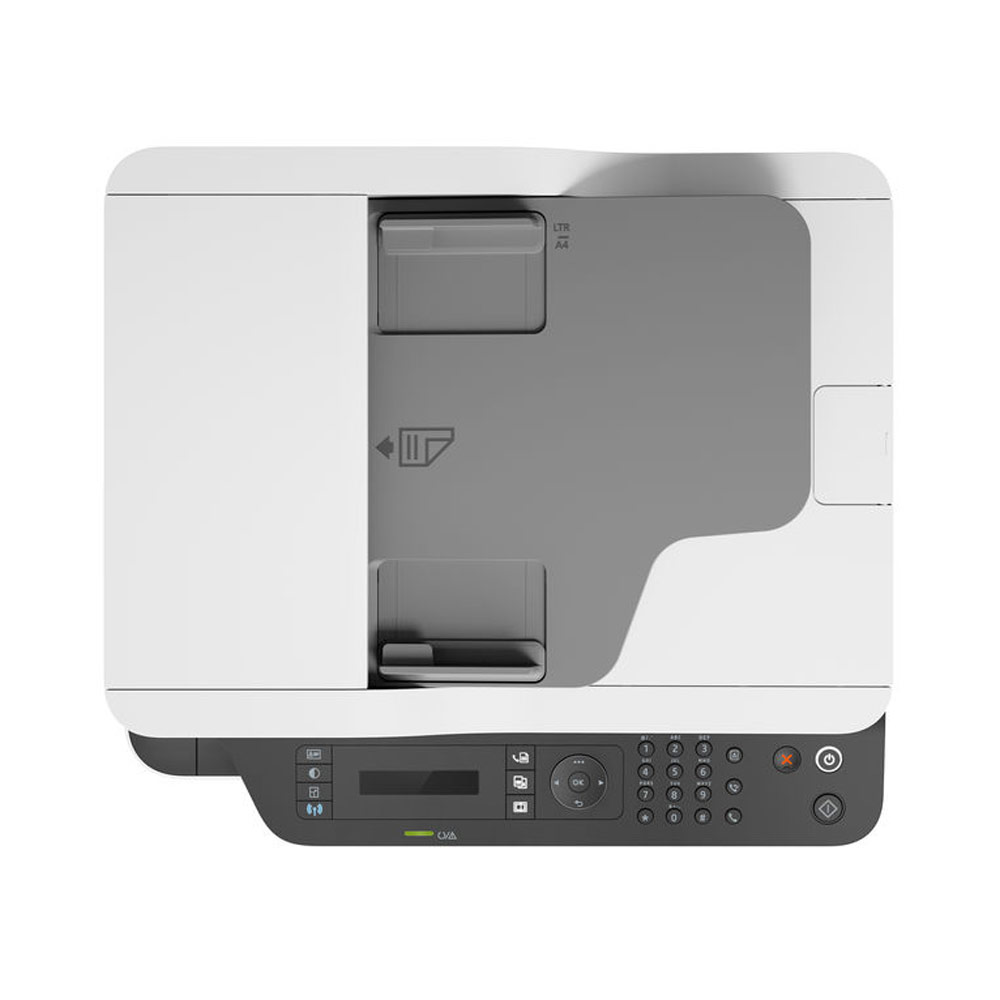 Stampante HP Laser MFP 137FNW fronte-retro Fax Scanner Fotocopiatrice WiFi LAN foto 6