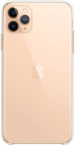 Apple iphone 11 pro max clear case - clear