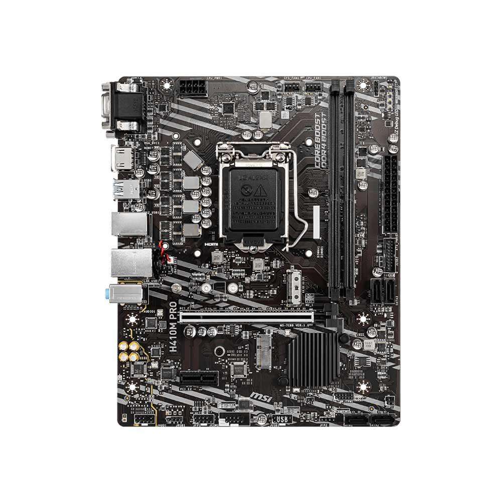 Scheda Madre socket intel LGA 1200 msi pro series H410M-PRO foto 3