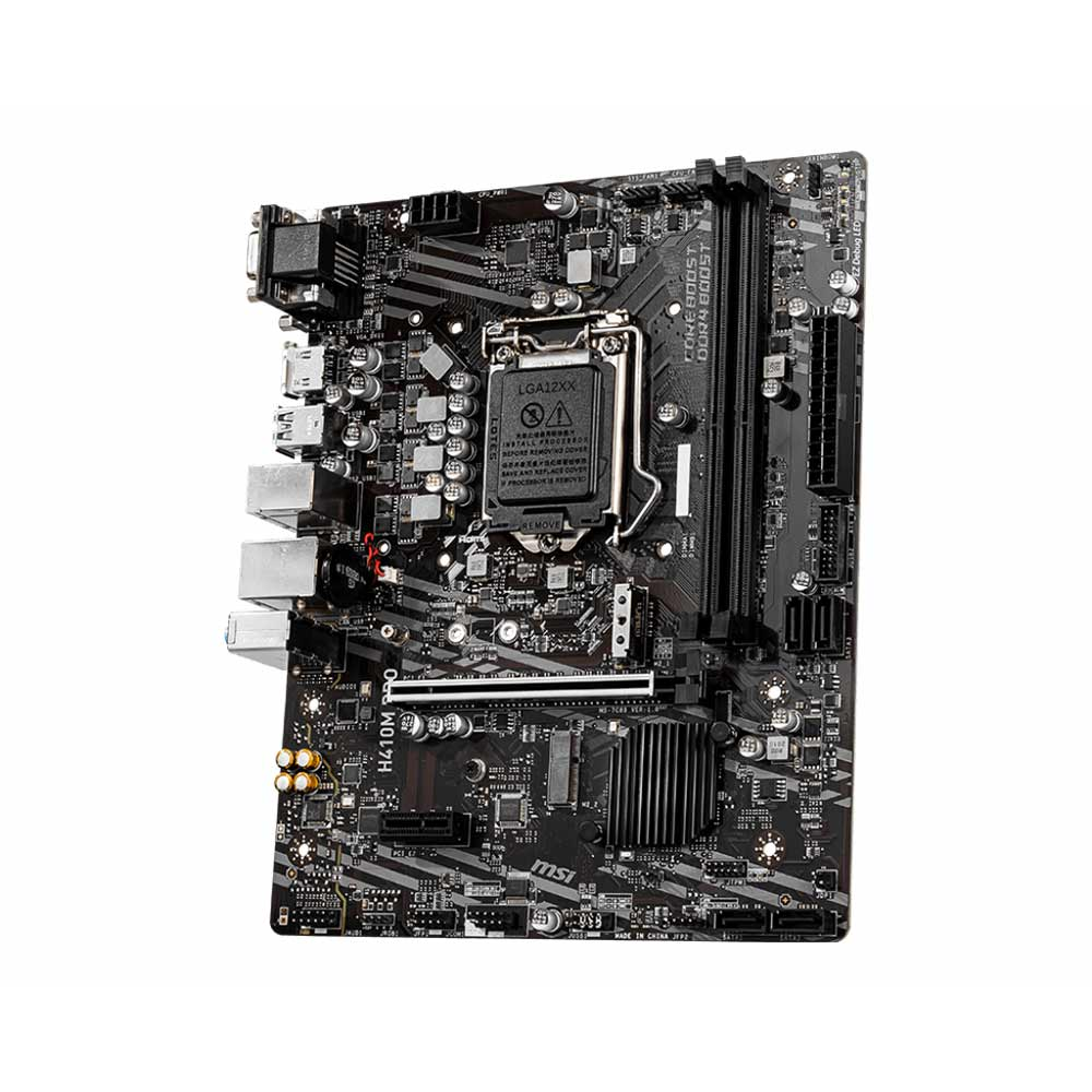 Scheda Madre socket intel LGA 1200 msi pro series H410M-PRO foto 4
