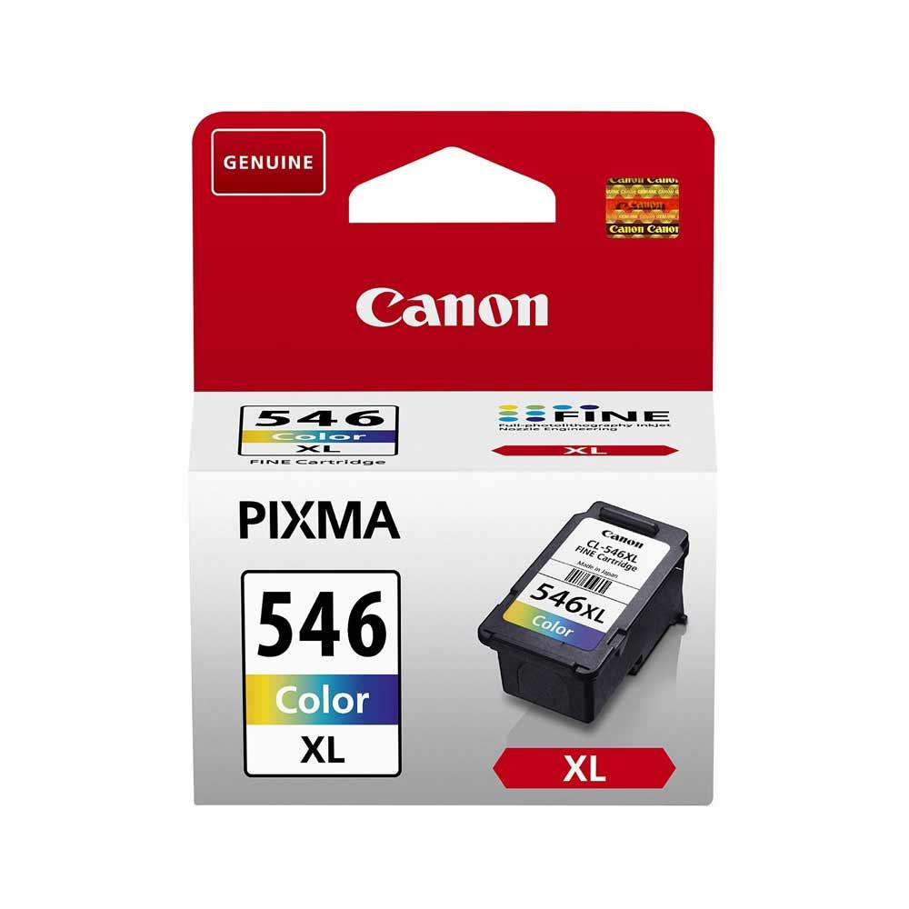 Cartuccia originale Canon CL-546XL con 3 colori misti ad alte prestazioni foto 2