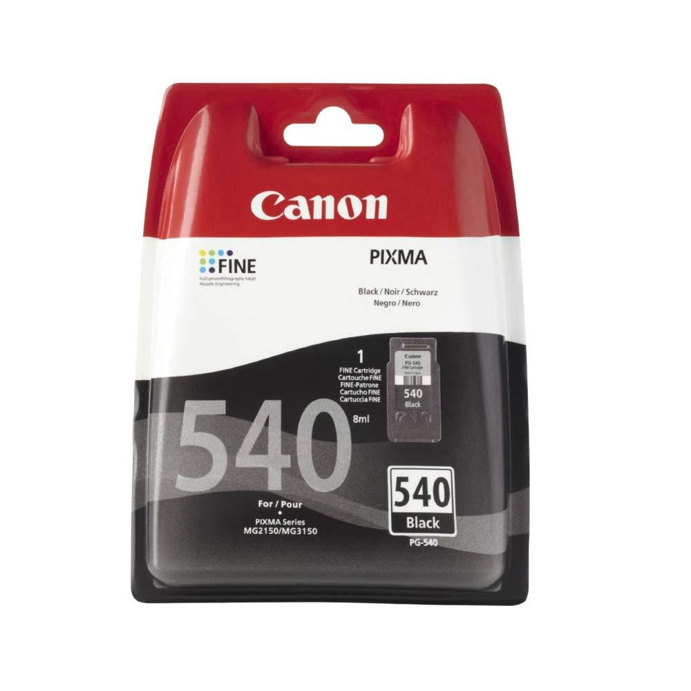 Cartuccia originale Canon PG-540 con inchiostro nero ad alte prestazioni foto 2