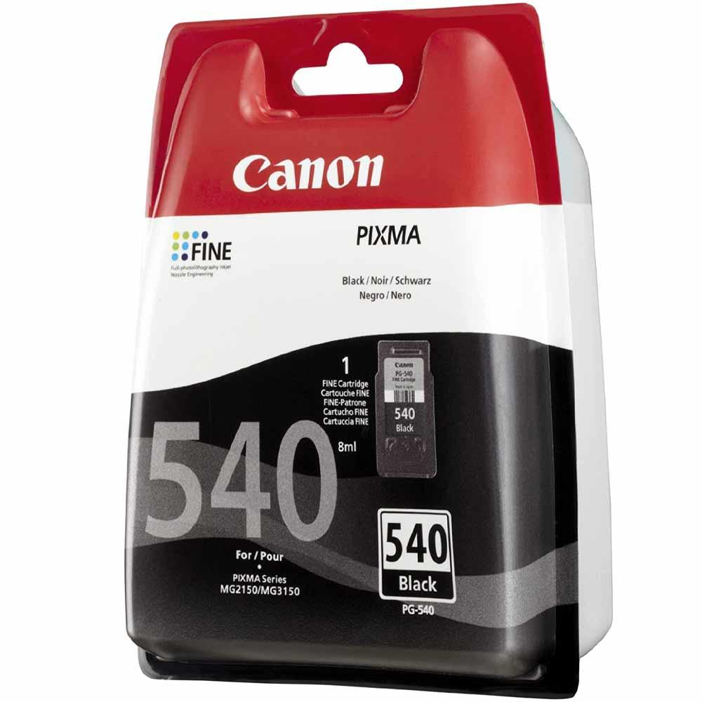 Cartuccia originale Canon PG-540 con inchiostro nero ad alte prestazioni foto 3