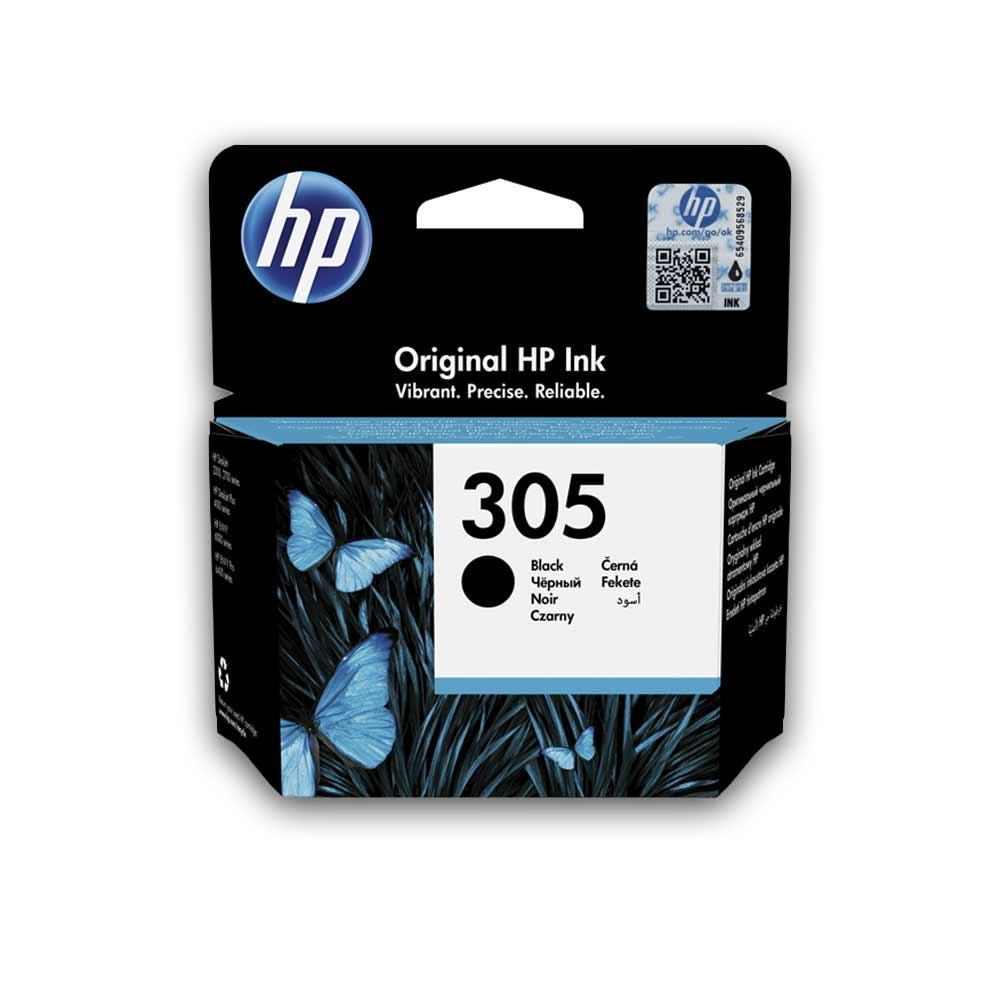 Cartuccia originale HP 305 nero ad alte prestazioni di stampa 3YM61AE foto 2