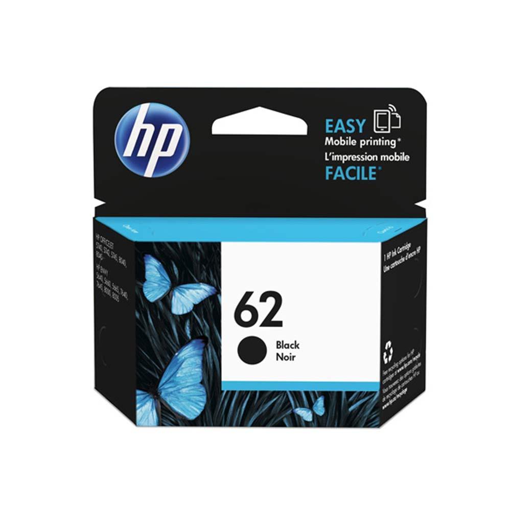 Cartuccia originale HP 62 inchiostro nero ad alte prestazioni di stampa C2P04AE  foto 2