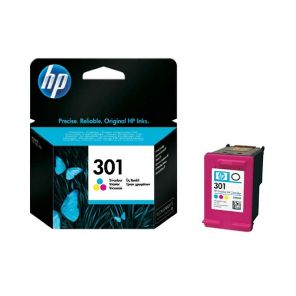 Cartuccia originale HP 301 tricomia ad alte prestazioni di stampa CH562EE foto 2