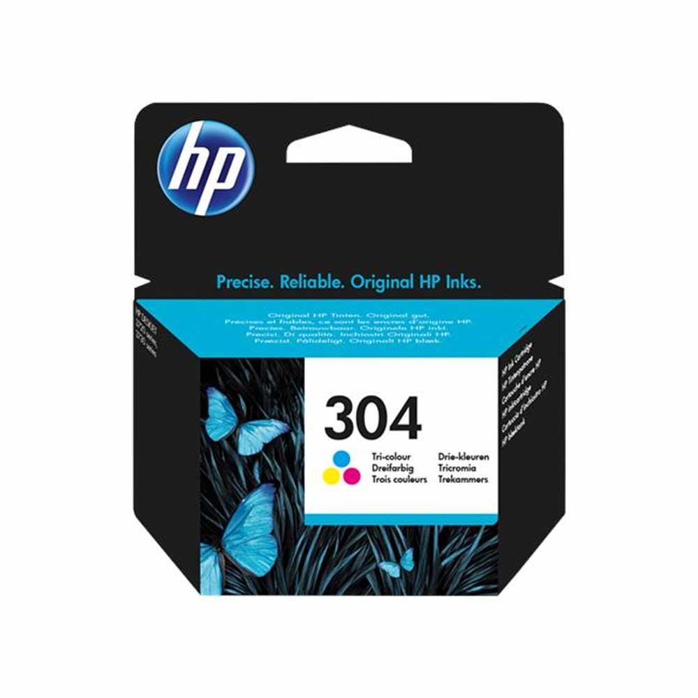 Cartuccia originale HP 304 a colori alta resa e qualita' di stampa N9K05AE